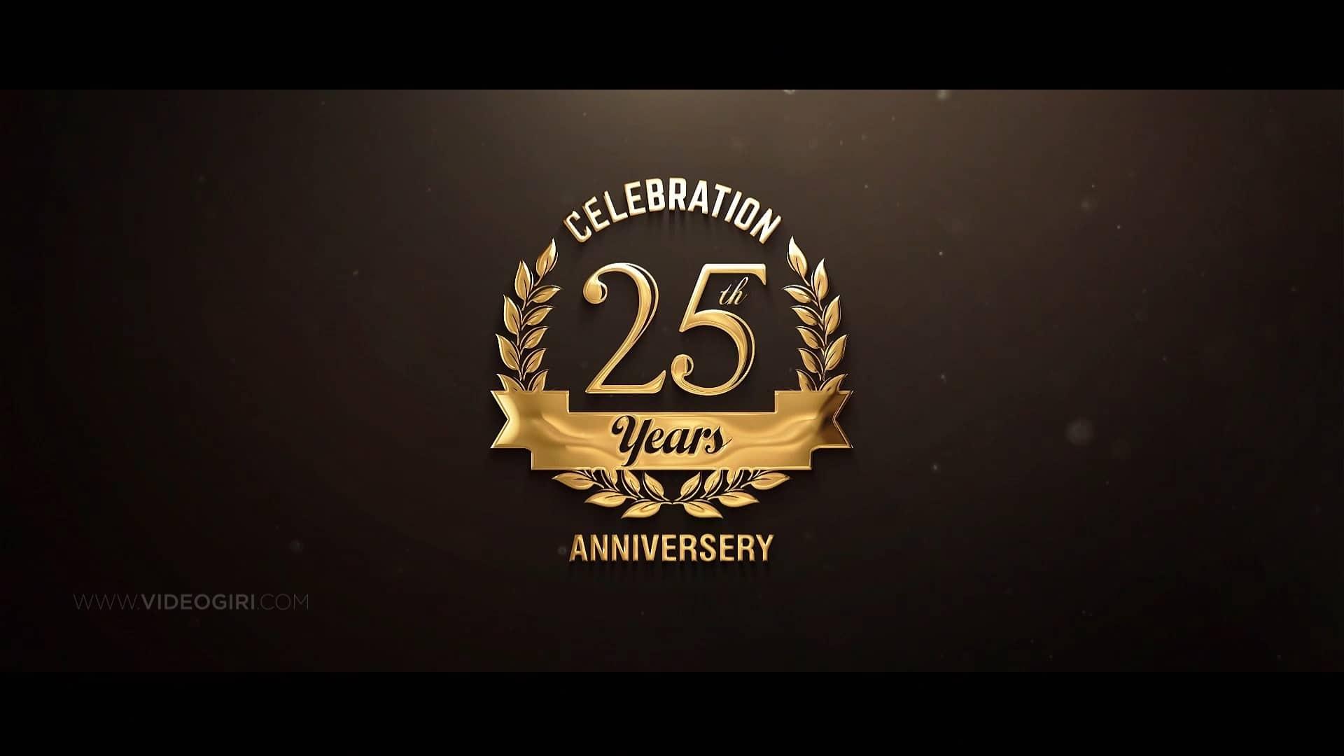 Whatsapp Invitation Video For 25th Wedding Anniversary