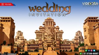 Historical Wedding Invitation video